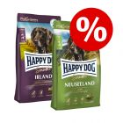 Økonomipakke Happy Dog Supreme: 2 store poser Happy Dog hundefoder