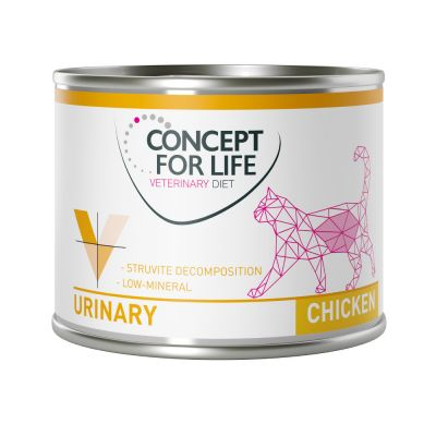 Økonomipakke: 24 x 200 g / 185 g Concept for Life Veterinary Diet