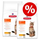 €8,- korting! Dubbelpak Hill's Science Plan Kattenvoer