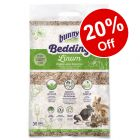 35l Bunny Bed O'Linum Natural Linen Bedding - 20% Off!*