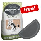 30l Greenwoods Natural Clumping Litter + XXL Cat Litter Tray Mat Free!*