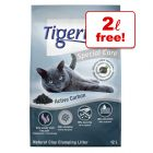 10l Tigerino Special Care Active Carbon Cat Litter + 2l Free!*