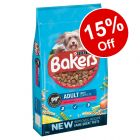 Large Bags Bakers Dry Dog Food - 15% Off!*
