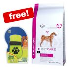 Large Bags Eukanuba Daily Care Dry Dog Food + FURminator Curry Comb Free!*