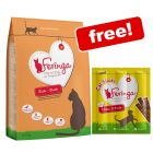 Large Bags Feringa Dry Cat Food + Feringa Chicken & Duck Sticks Free!*