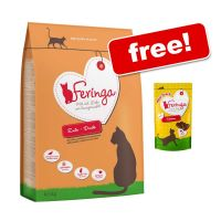 Large Bags Feringa Dry Cat Food + Feringa Meat Snacks Chicken Free!*