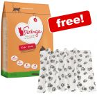 Large Bags Feringa Dry Cat Food + Pawty Fleece Blanket Free!*