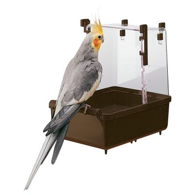 Large Parakeet/Cockatiel Bath House