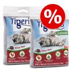 Lettiera del mese! 2 x 12 kg Tigerino Canada - Winter Rose