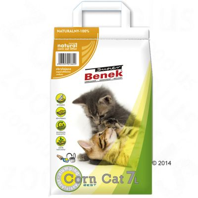 Lettiera Super Benek Corn Cat Natural