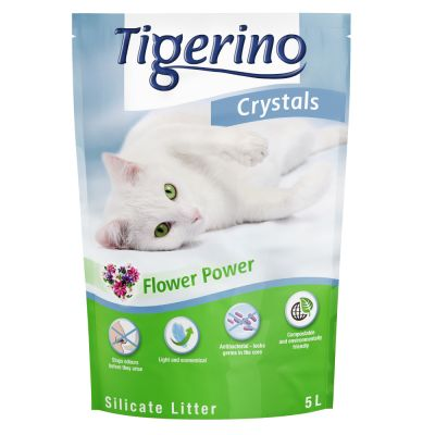 Lettiera Tigerino Crystals Flower-Power