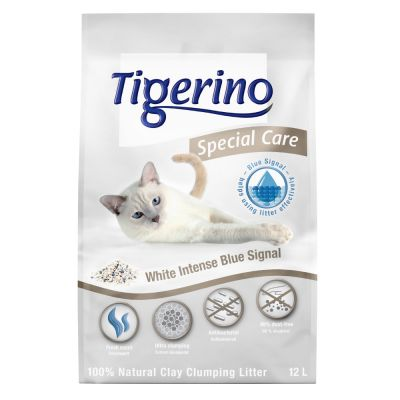 Lettiera Tigerino Special Care - White Intense Blue Signal