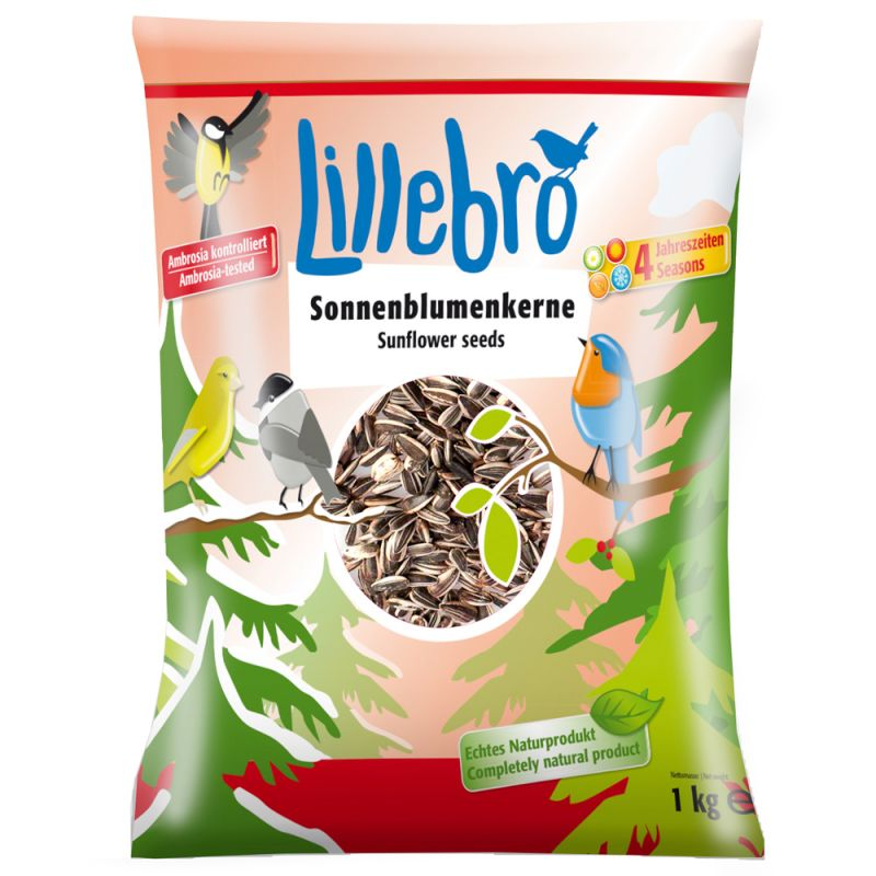 Lillebro Sunflower Seeds for Wild Birds