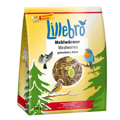 Lillebro - Vers de farine déshydratés - zooplus 4bc634badda4