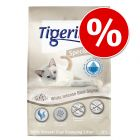 Litière du mois : Tigerino Special Care White Intense Blue Signal pour chat