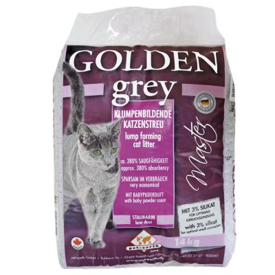 Litiere Golden Grey Master Pour Chat Zooplus