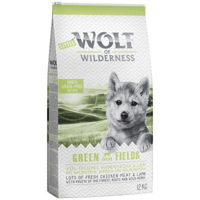 Little Wolf of Wilderness Junior Green Fields, agneau pour chiot
