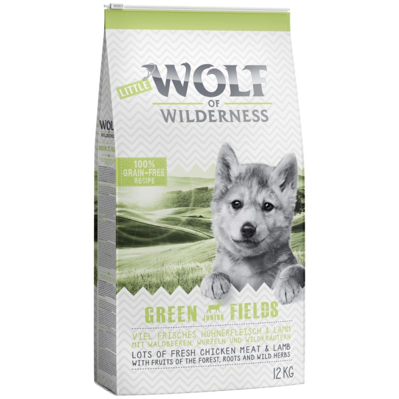"Little Wolf of Wilderness Junior ""Green Fields"" - Lamb"