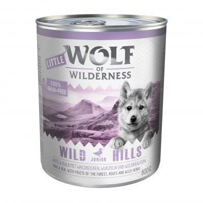 Little Wolf of Wilderness 6 x 800g