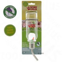 Living World Glass Water Bottle