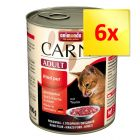 Lot 3 saveurs Animonda Carny Adult 6 x 800 g
