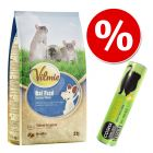 Lot : Vilmie Premium 2 kg + Cosma Snackies pour rat