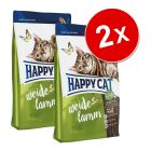 Lot de croquettes pour chat Happy Cat
