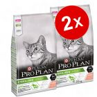 Lot de croquettes pour chat PURINA PRO PLAN 2 x 10 kg