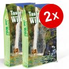 Lot de croquettes Taste of the Wild 2 x 6,8 kg pour chat