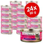 Lot Feline Porta 21, 24 x 90 g pour chat