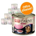 Lot mixte Animonda Carny Adult 12 x 200 g pour chat