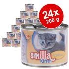 Lot Smilla Kitten 24 x 200 g pour chaton