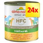 Lot Almo Nature Classic 24 x 280 / 290 g
