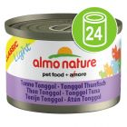Lot Almo Nature Light 24 x 50 g pour chat