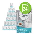 Lot Concept for Life 24 x 85 g pour chat