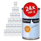 Lot Cosma Nature 24 x 140 g pour chat