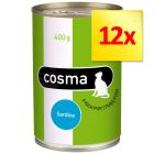 Lot Cosma Original en gelée 12 x 400 g