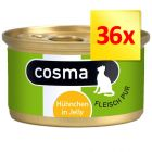 Lot Cosma Original en gelée 36 x 85 g
