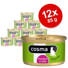 Lot Cosma Original en gelée 12 x 85 g pour chat