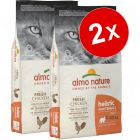 Lot de croquettes pour chat Almo Nature Holistic 2 x 12 kg