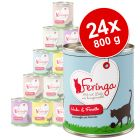 Lot Feringa Menu Duo 24 x 800 g pour chat