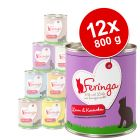 Lot Feringa Menu Duo 12 x 800 g pour chat