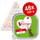 Lot Feringa 48 x 100 g pour chat