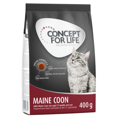 Lot 400 g Concept for Life + 6 x 70 g Cosma Nature