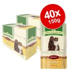 Lot James Wellbeloved 40 x 150 g pour chien