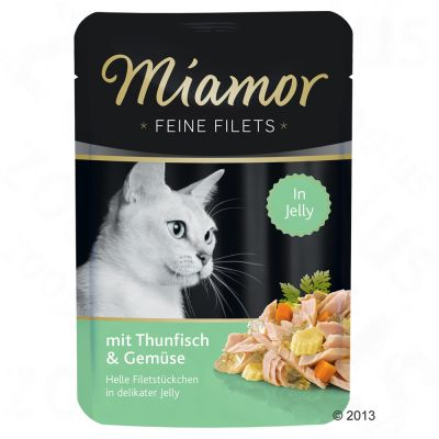 Lot Miamor Filets fins 24 x 100 g pour chat