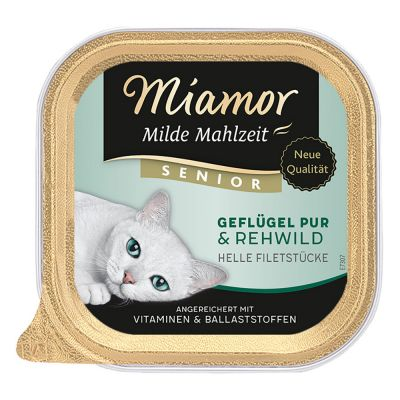 Lot Miamor Milde Mahlzeit 24 x 100 g pour chat
