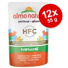 Lot mixte Almo Nature Classic 12 x 55 g pour chat