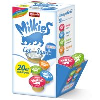 Lot mixte Animonda Milkies Selection pour chat, 20 x 15 g