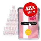 Lot mixte Cosma Thai 48 x 100 g